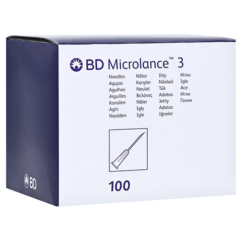 BD MICROLANCE Kanüle 23 G 1 1/4 0,6x30 mm 100 Stück