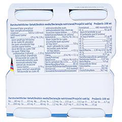 SURVIMED OPD DRINK Vanille Trinkflasche 4x200 Milliliter - Unterseite