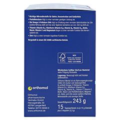 ORTHOMOL mental Granulat+Kapseln 15 Tagesportionen 1 Packung - Linke Seite