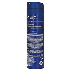 NIVEA MEN Deo Spray fresh active 150 Milliliter - Rechte Seite