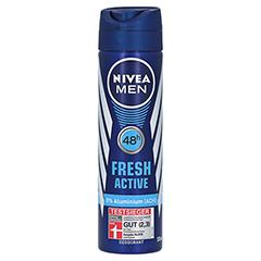NIVEA MEN Deo Spray fresh active 150 Milliliter