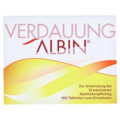 VERDAUUNG ALBIN Tabletten 100 Stück N1 - Vorderseite