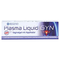 PLASMA LIQUID Gyn Vaginalgel+Applikator 30 Milliliter - Vorderseite