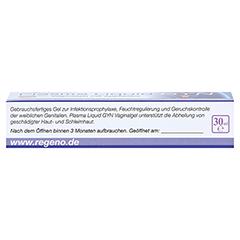 PLASMA LIQUID Gyn Vaginalgel+Applikator 30 Milliliter - Rückseite