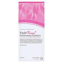 KADEFEMIN Intimwaschlotion 125 Milliliter - Rückseite
