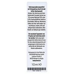 HEMPAMED Premium CBD 20% Tropfen 10 Milliliter - Rückseite