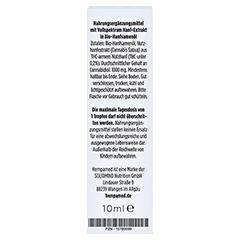 HEMPAMED Premium CBD 10% Tropfen 10 Milliliter - Rückseite