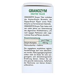 GRANOZYM Enzym Taler Grandel 32 Stück - Linke Seite