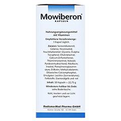 MOWIBERON Kapseln 50 Stück - Linke Seite