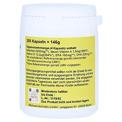 LEBERTRAN KAPSELN 500 mg 200 Stück - Linke Seite