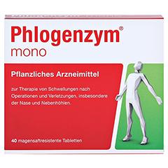 Phlogenzym mono Filmtabletten 40 Stück - Vorderseite