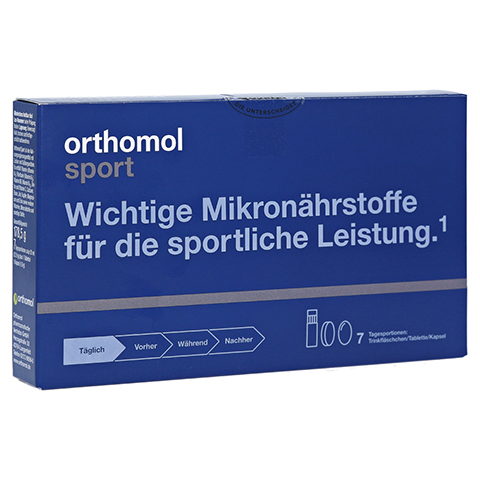 Orthomol Sport Trinkfläschchen/Tablette/Kapsel 7 Stück