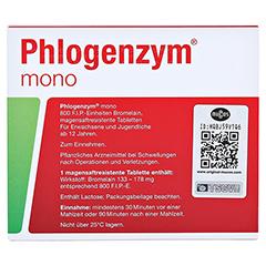 Phlogenzym mono Filmtabletten 40 Stück - Rückseite