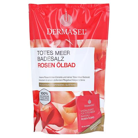 DERMASEL Totes Meer Badesalz+Rose SPA 1 Packung
