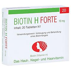 Biotin H forte 10mg 20 Stück N1