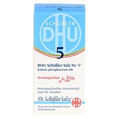 BIOCHEMIE DHU 5 Kalium phosphoricum D 6 Globuli 10 Gramm N1 - Vorderseite