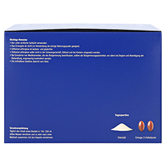 ORTHOMOL arthroplus Granulat/Kapseln 30 Stück - Rechte Seite