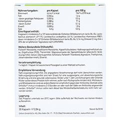 ORTHOFLOR immun Kapseln 30 Stück - Rückseite