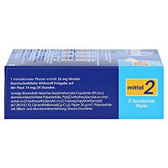 Nicotinell 14mg/24Stunden 21 Stück - Linke Seite