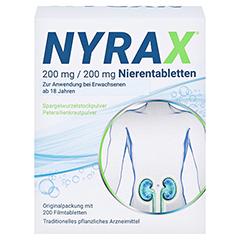 NYRAX 200mg/200mg Nierentabletten 200 Stück - Vorderseite