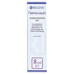 PLASMA LIQUID Ohrentropfen-Gel 8 Milliliter - Vorderseite