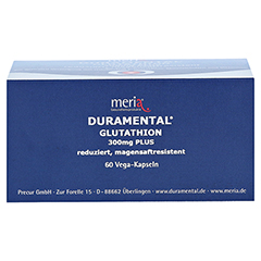 DURAMENTAL Glutathion 300 mg PLUS magensaftr.Kaps. 60 Stück - Oberseite