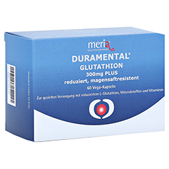 DURAMENTAL Glutathion 300 mg PLUS magensaftr.Kaps. 60 Stück