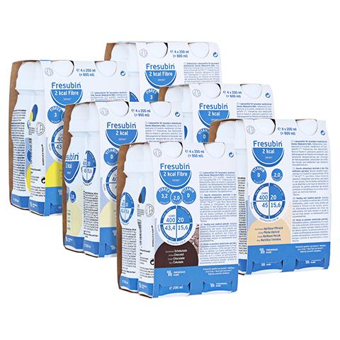 Fresubin 2 kcal DRINK Mischkarton mit und ohne Ballaststoffe 24x200 Milliliter