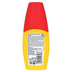 Autan Protection Plus Zeckenschutz Pumpspray + gratis Autan Picknickbesteck 100 Milliliter - Rückseite