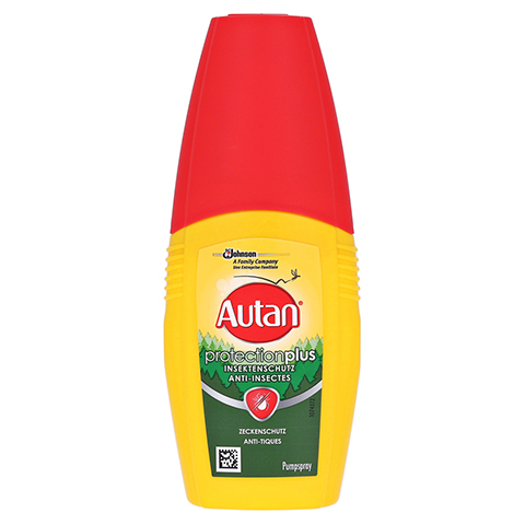 Autan Protection Plus Zeckenschutz Pumpspray 100 Milliliter