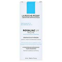 La Roche-Posay Rosaliac UV Riche 40 Milliliter - Rückseite