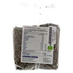 CHIA SAMEN Bio 250 Gramm - R�ckseite