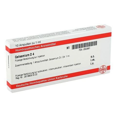 GELSEMIUM D 4 Ampullen 10x1 Milliliter N1