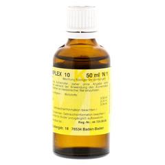 MERIDIANKOMPLEX 10 Tropfen zum Einnehmen 50 Milliliter N1 - R�ckseite