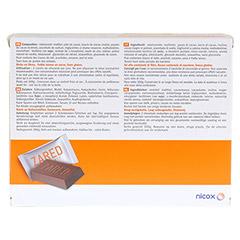 ZARED Chocolate Vitamins & Minerals Täfelchen 60x5 Gramm - Rückseite