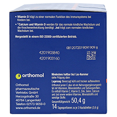 ORTHOMOL Junior C plus Kautabletten 14 St�ck - Linke Seite