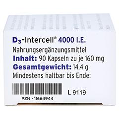 D3-INTERCELL 4.000 I.E. Kapseln 90 Stück - Rechte Seite