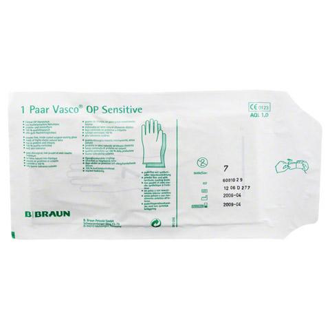 VASCO Op Handschuhe steril puderfrei Gr.7,0 2 Stück
