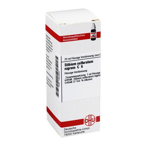 STIBIUM SULFURATUM NIGRUM C 6 Dilution 20 Milliliter N1
