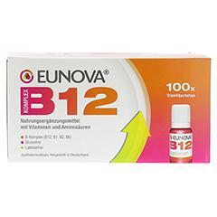 EUNOVA B12 Komplex Trinkfläschchen 100x10 Milliliter - Vorderseite