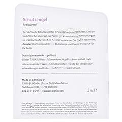 BALDINI Engel mit 5 ml Feelw�rme Bio Demeter Auto 1 St�ck - R�ckseite