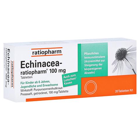 ECHINACEA-ratiopharm 100mg 20 Stück N1