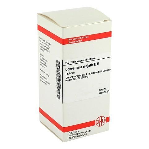 CONVALLARIA MAJALIS D 6 Tabletten 200 Stück N2