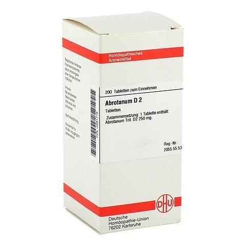 ABROTANUM D 2 Tabletten 200 Stück N2