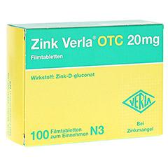 Zink Verla OTC 20mg 100 Stück N3