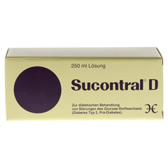 Sucontral D Diabetiker L�sung 250 Milliliter - Vorderseite