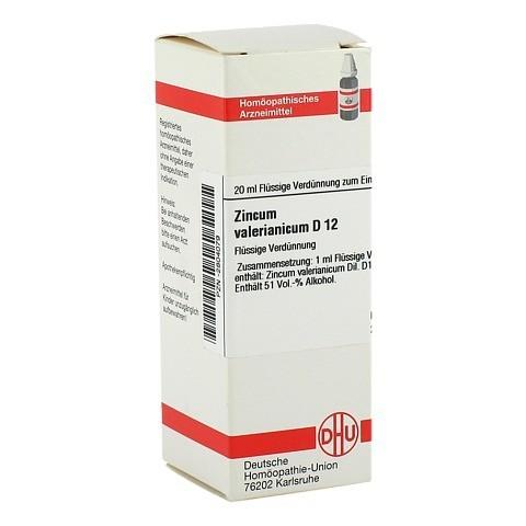 ZINCUM VALERIANICUM D 12 Dilution 20 Milliliter N1