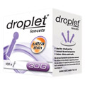 OMRON droplet lancets ultra thin 30 G 100 St�ck