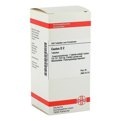 CACTUS D 2 Tabletten 200 Stück N2