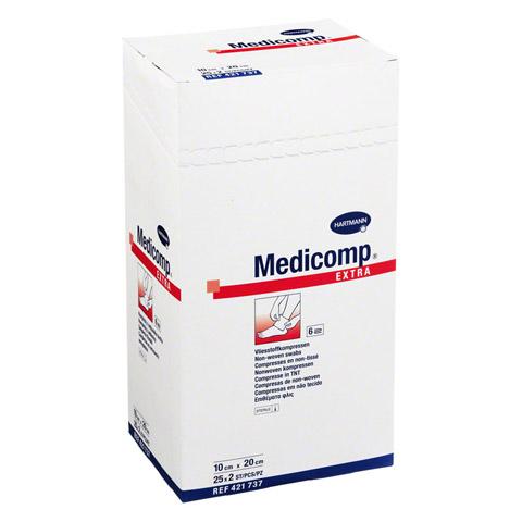 MEDICOMP extra Kompressen 10x20 cm steril 25x2 St�ck